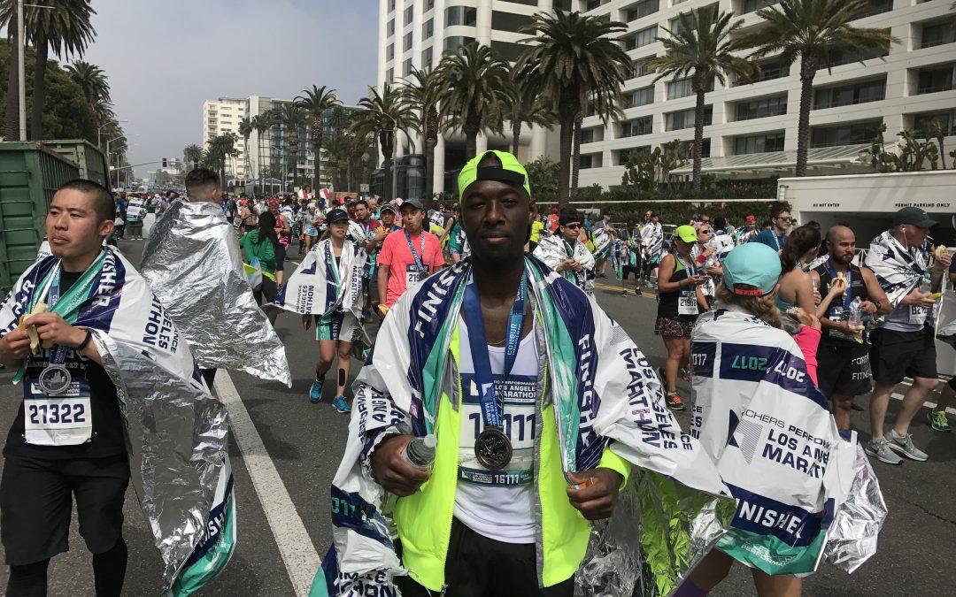 @bychris runs LA Sketchers 2017 Marathon Proudly On A Vegan Lifestyle